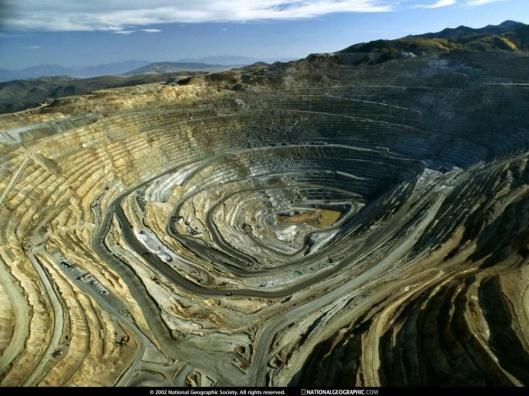 Cooper mine Utah