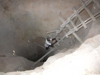 Tanzanite mine in Merilani Tanzania