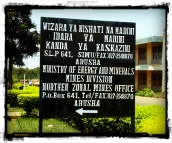 Ministère des mines, Tanzanie