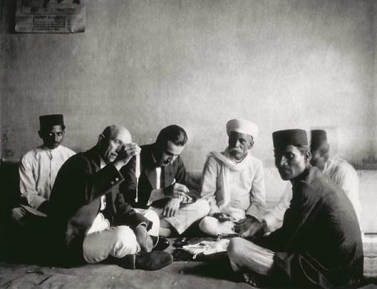 Louis Boucheron en Inde, en 1909.
