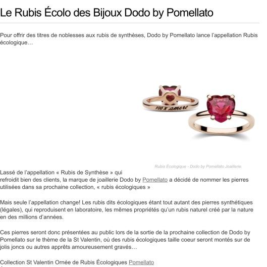 Rubis Pomellato